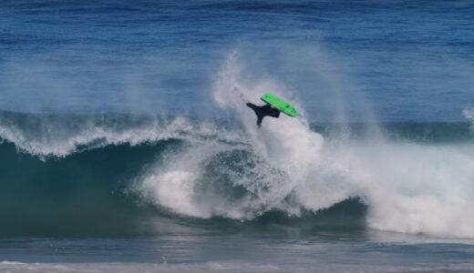 Tristan Roberts bodyboarding en Durban Sudáfrica