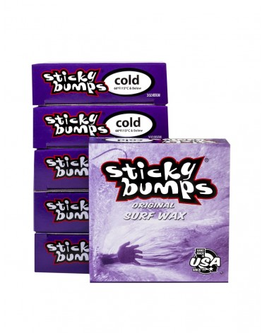 Parafina STICKY BUMPS Wax - COLD - Temperatura agua menor 15 grados