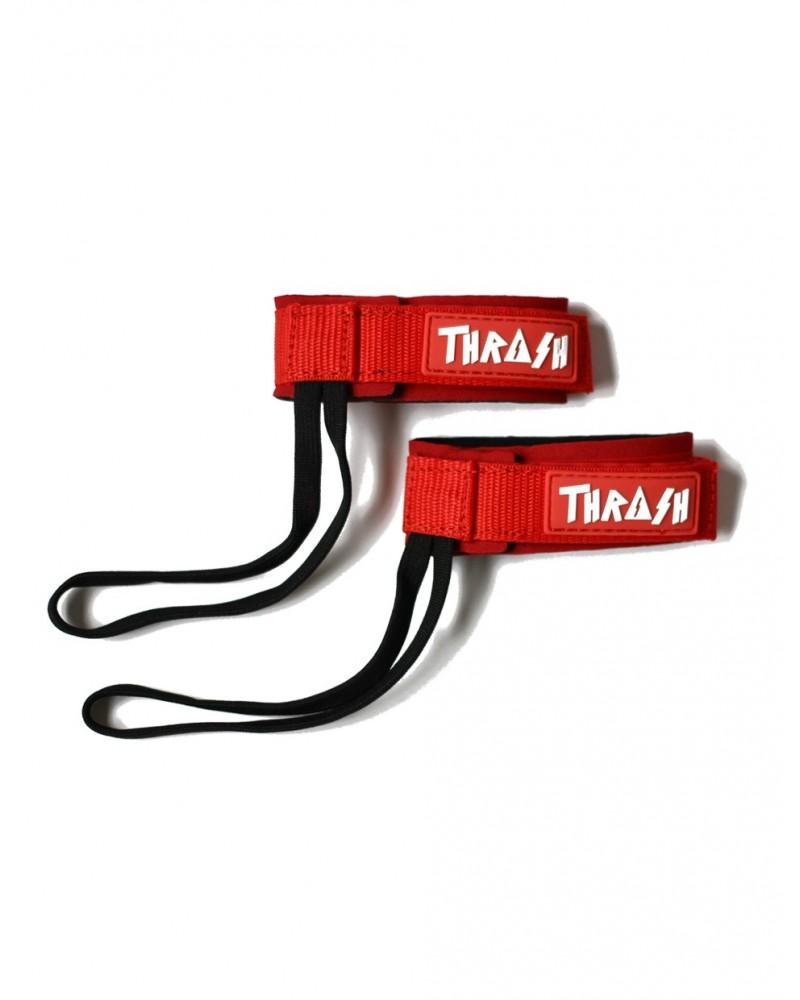 Sujeta aletas THRASH invento - Rojo