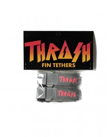 Sujeta aletas THRASH invento - Gris