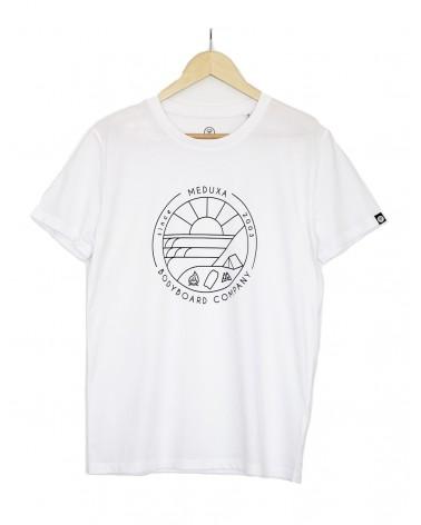 Camiseta MEDUXA Surfari - Blanca