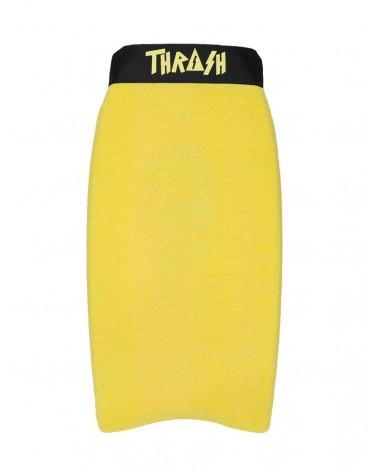 Funda THRASH bodyboard toalla / calcetin - Amarillo