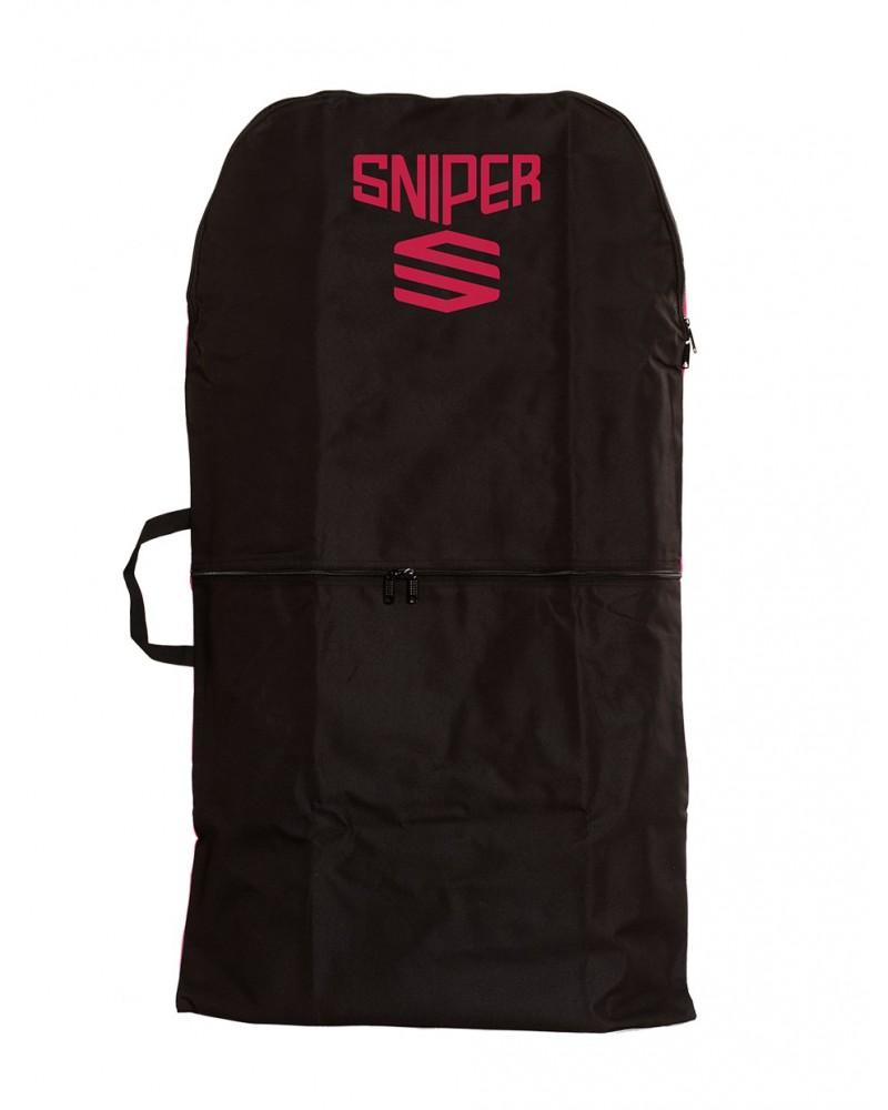 Funda SNIPER single NYLON - Negro & Rojo