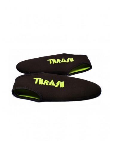 Escarpines cortos THRASH - Negro & Verde