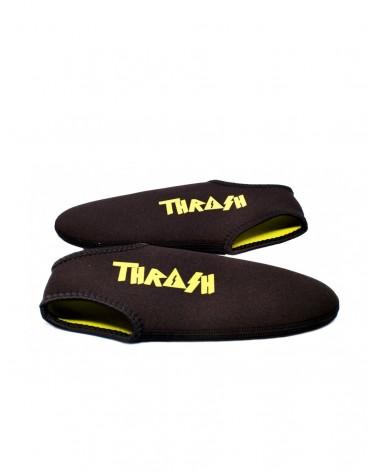 Escarpines cortos THRASH - Negro & Amarillo