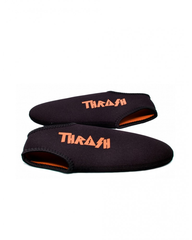 Escarpines cortos THRASH - Negro & Naranja