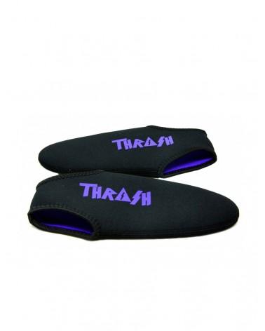 Escarpines cortos THRASH - Negro & Morado