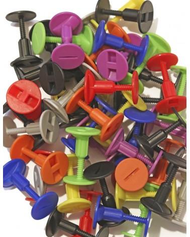Tapón invento bodyboard THRASH tornillo - Colores