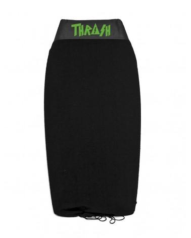 Funda THRASH bodyboard toalla / calcetin - Negro & Verde