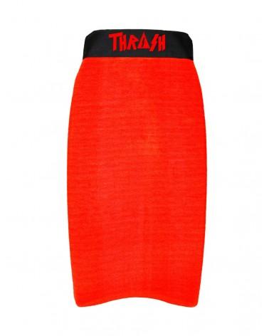 Funda THRASH bodyboard toalla / calcetin - Rojo