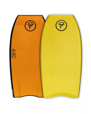 Bodyboard MEDUXA Crescent - Yellow