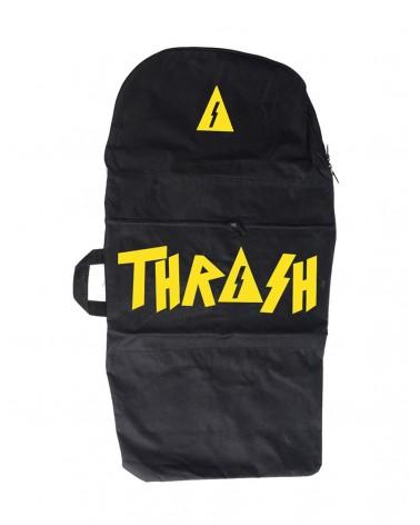 Funda bodyboard THRASH negro & amarillo