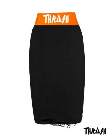 Funda THRASH bodyboard toalla / calcetin - Negro & Naranja
