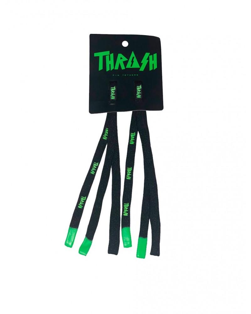 Sujeta aletas THRASH Fin Laces - Verde