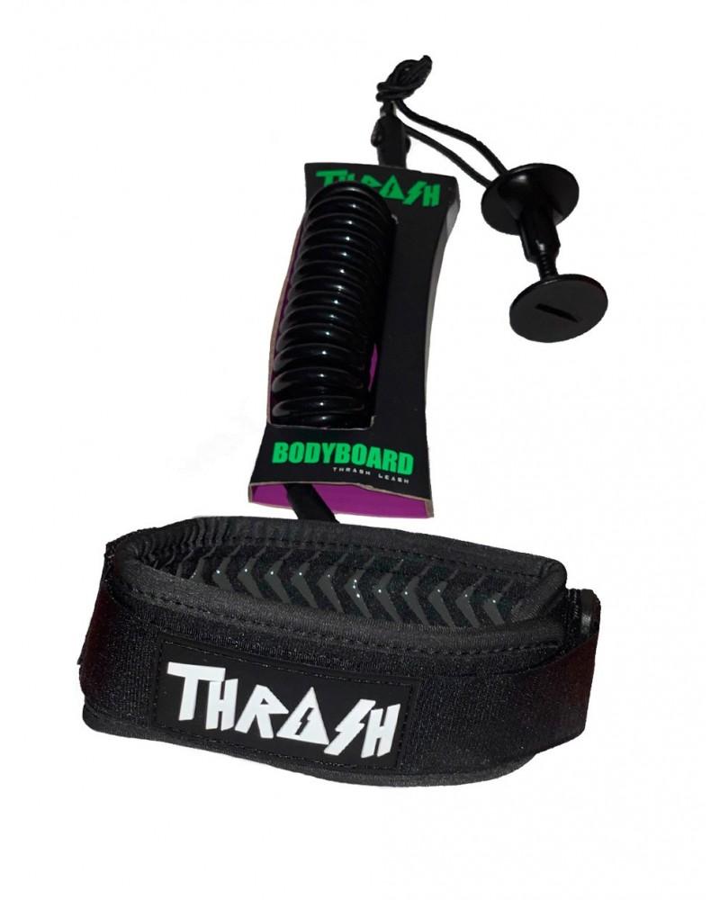 Invento THRASH V-Grip biceps - Negro & Blanco