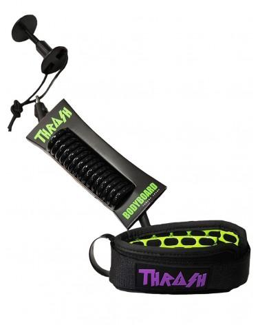Invento THRASH V2 biceps Ergo Leash - Negro & Morado