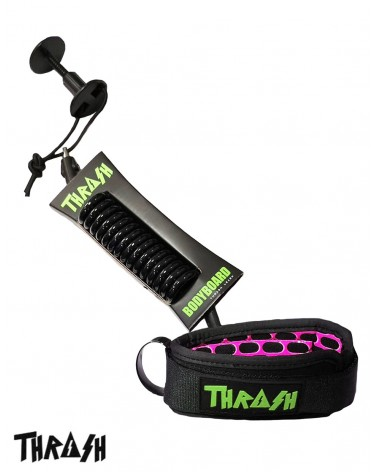 Invento THRASH V2 biceps Ergo Leash - Negro & Verde
