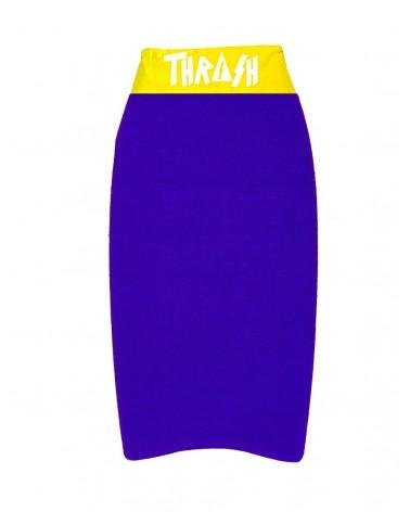 Funda THRASH bodyboard toalla / calcetin - Azul & Amarillo