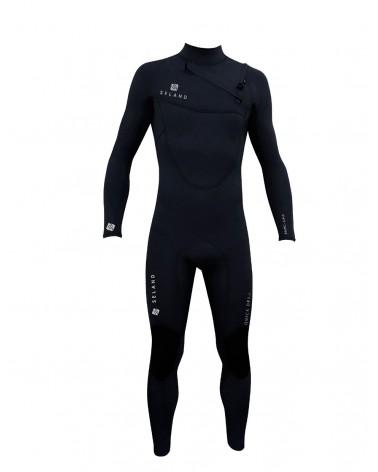 Neopreno SELAND wetsuit BALTIC QUICK DRY 5/4/3mm - Negro & Dorado