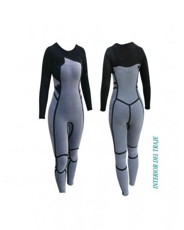 Neopreno chica SELAND wetsuit ARTIC 4/3mm Quick Dry