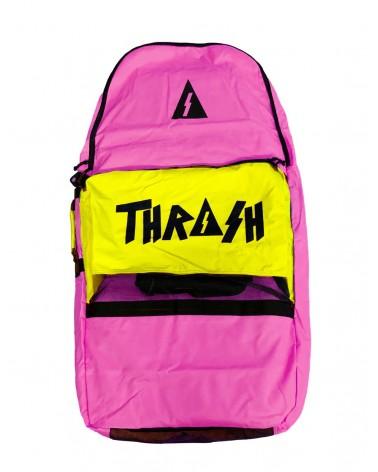 Funda bodyboard THRASH Retro Bag - Rosa & Amarillo