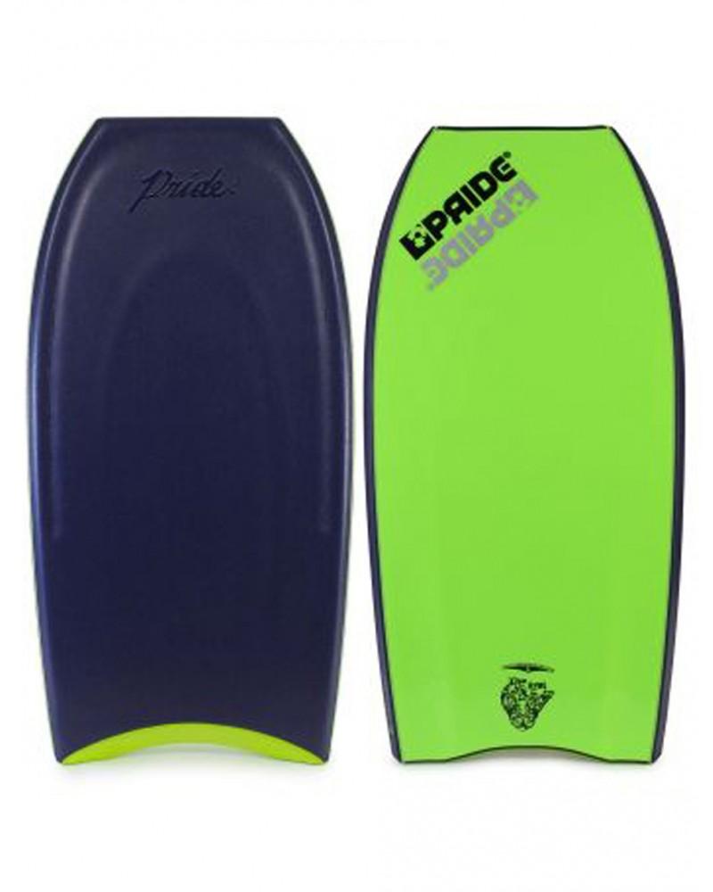 Bodyboard PRIDE Realest Radial Flex PP SDC Tristan Roberts Pro Model - Azul