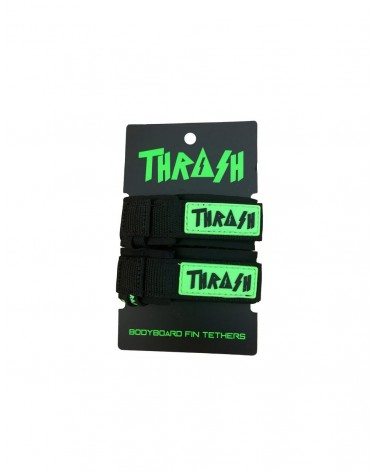 Sujeta aletas THRASH invento - Negro & Verde