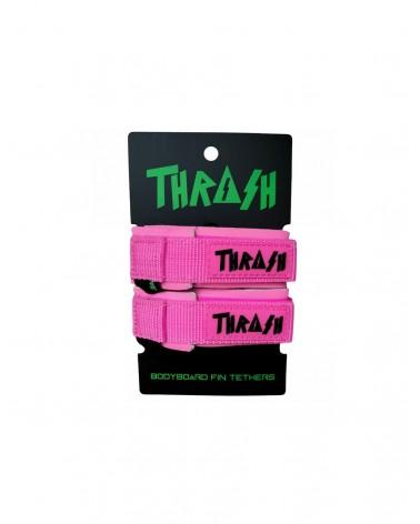 Sujeta aletas THRASH invento - Rosa