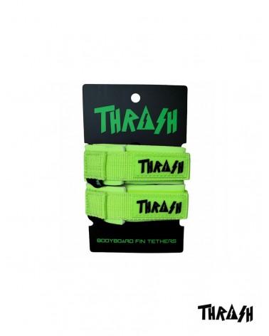 Sujeta aletas THRASH invento - Verde