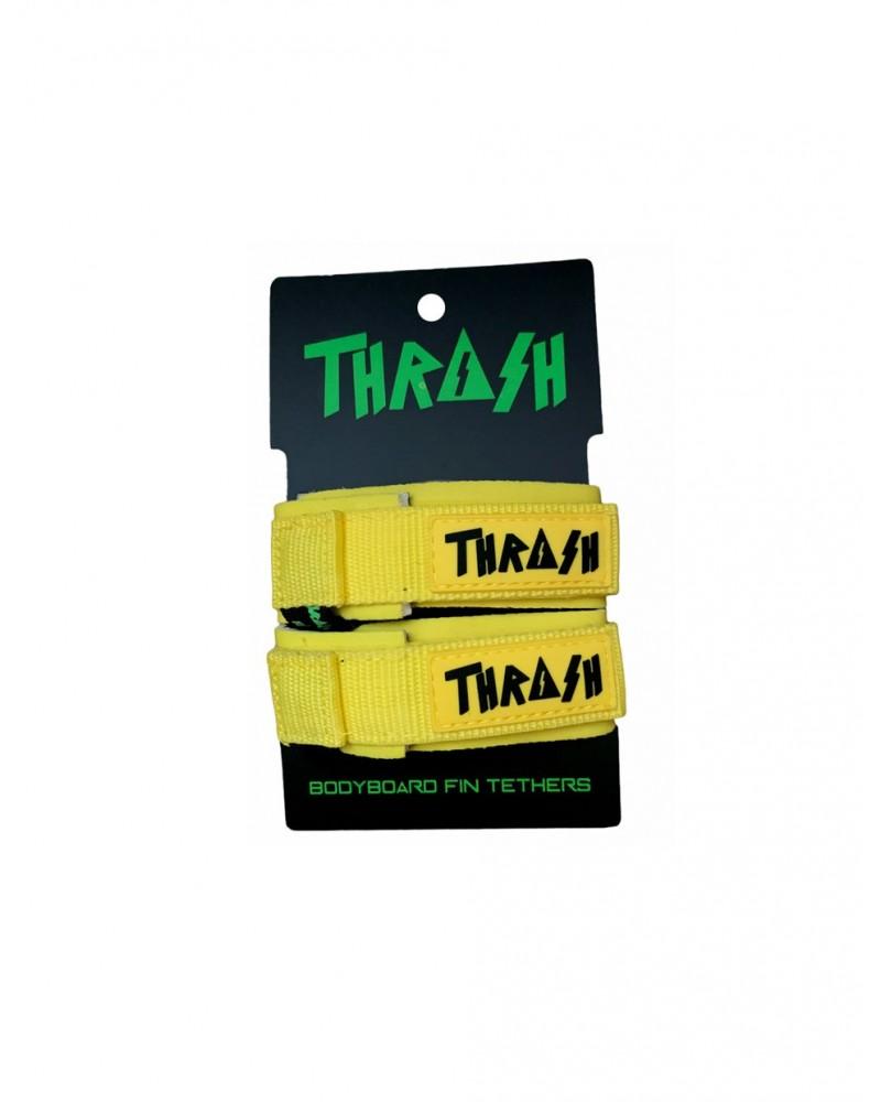 Sujeta aletas THRASH invento - Amarillo