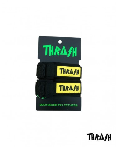 Sujeta aletas THRASH invento - Negro & Amarillo