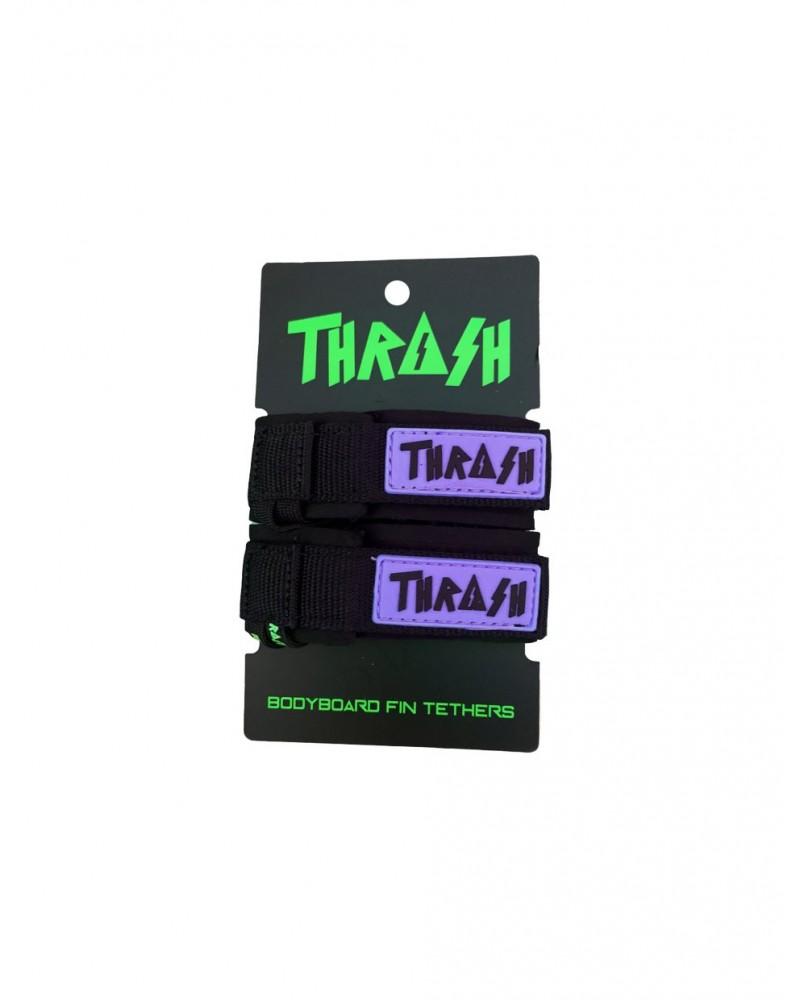Sujeta aletas THRASH invento - Negro