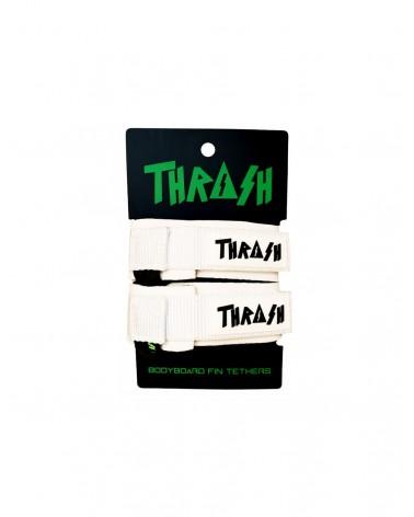 Sujeta aletas THRASH invento - Negro & Rosa