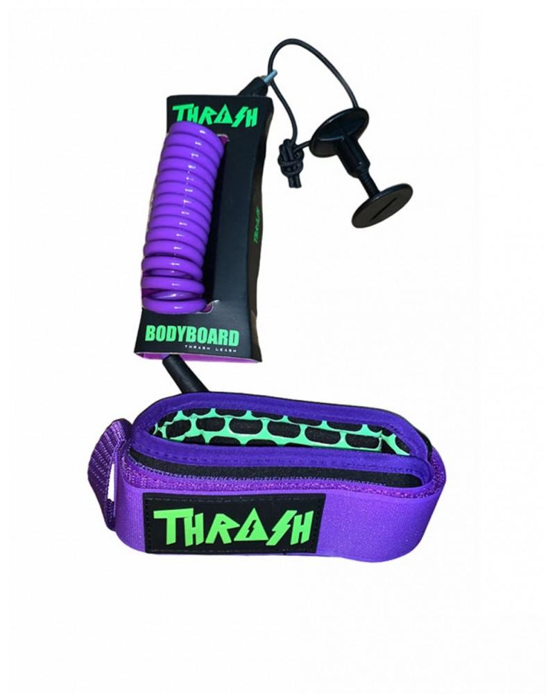 Invento THRASH V2 biceps Ergo Leash - Morado