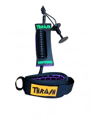 Invento THRASH V2 biceps Ergo Leash - Negro & Amarillo