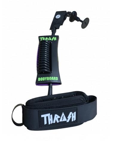 Invento THRASH X6 Hive Grip biceps Ergo Leash salva cantos- Blanco