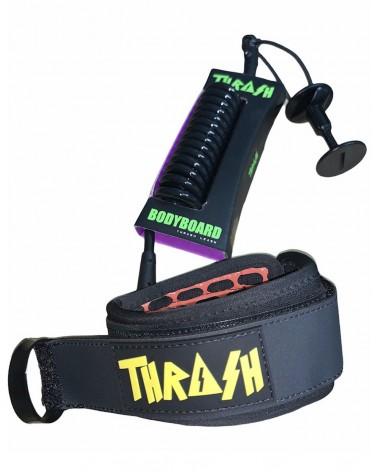 Invento THRASH X6 Hive Grip biceps Ergo Leash