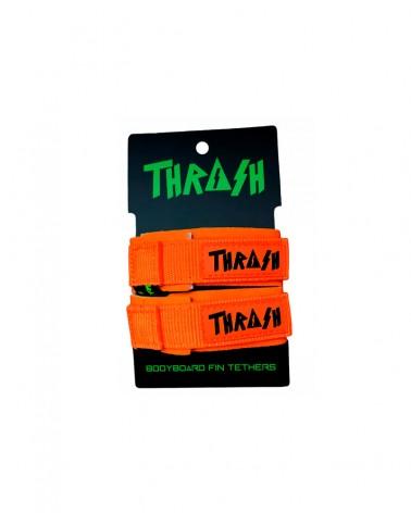 Sujeta aletas THRASH invento - Naranja