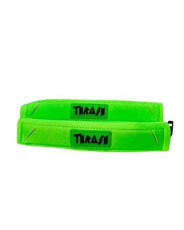 Sujeta aletas THRASH Deluxe - Verde fluor