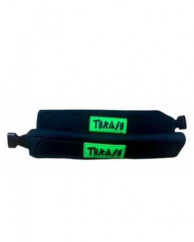 Sujeta aletas THRASH Deluxe - Negro & Verde