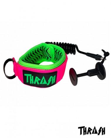 Invento THRASH V-Grip biceps XL - Negro & Rosa & Verde