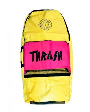 Funda bodyboard THRASH Retro Bag - Amarillo & Rosa