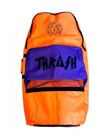 Funda bodyboard THRASH Retro Bag - Naranja & Morado