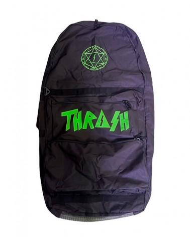 Funda bodyboard THRASH Travel Bag - Negro & Verde