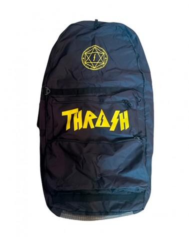 Funda bodyboard THRASH Travel Bag - Negro & Amarillo