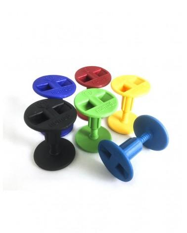 Tapón invento bodyboard NOMAD tornillo - Colores