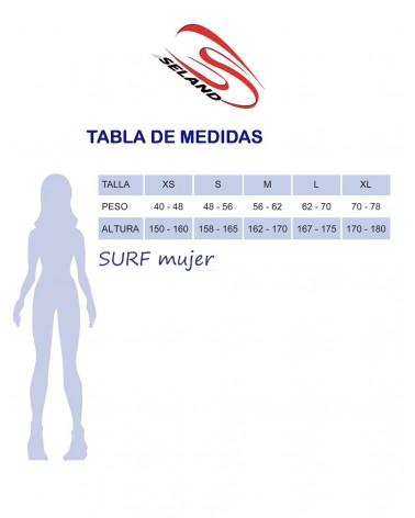 Neopreno chica SELAND wetsuit GALEA 3/2mm